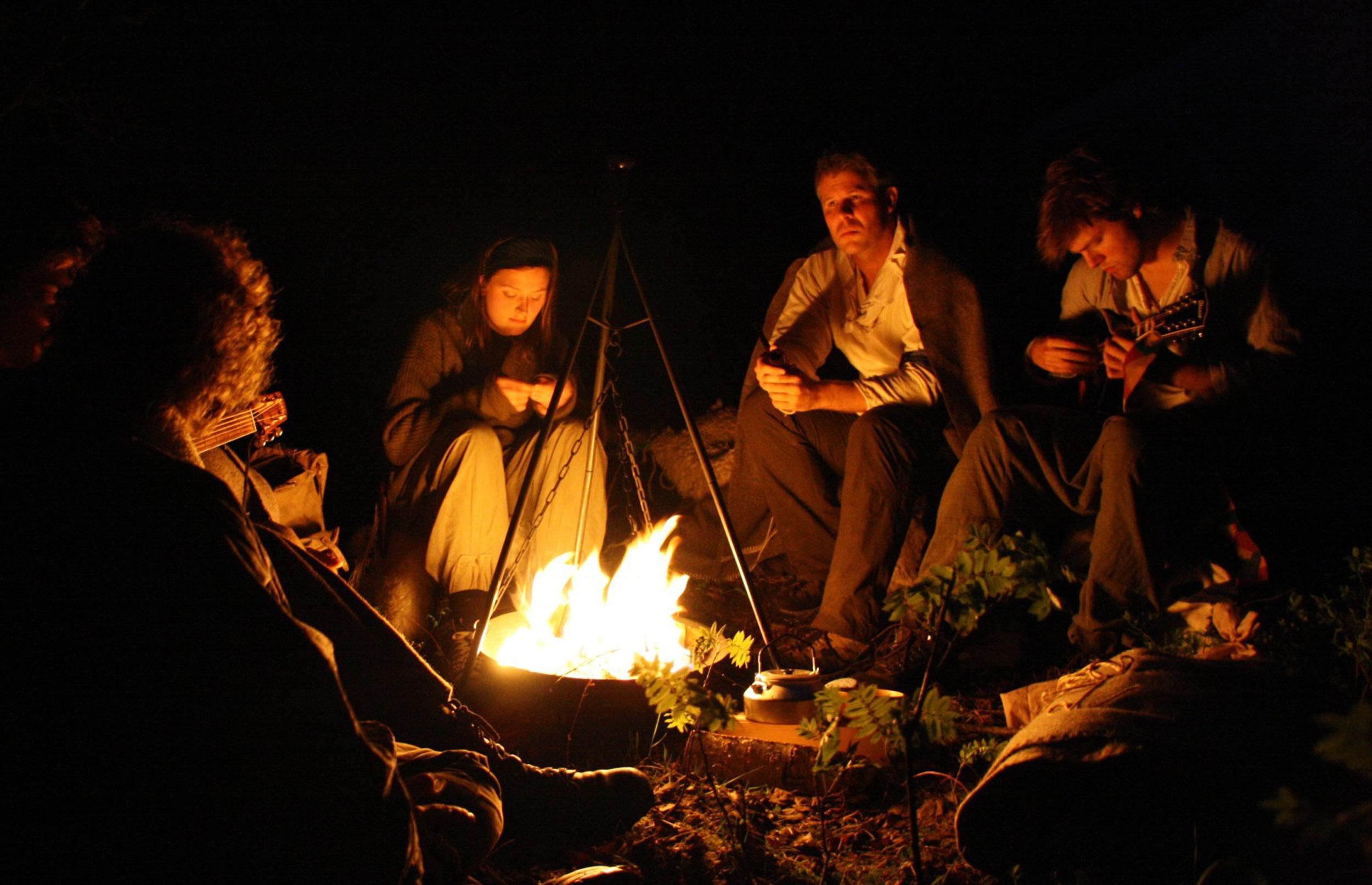 Overnatning udenfor er populært trods kulden - sådan gør du