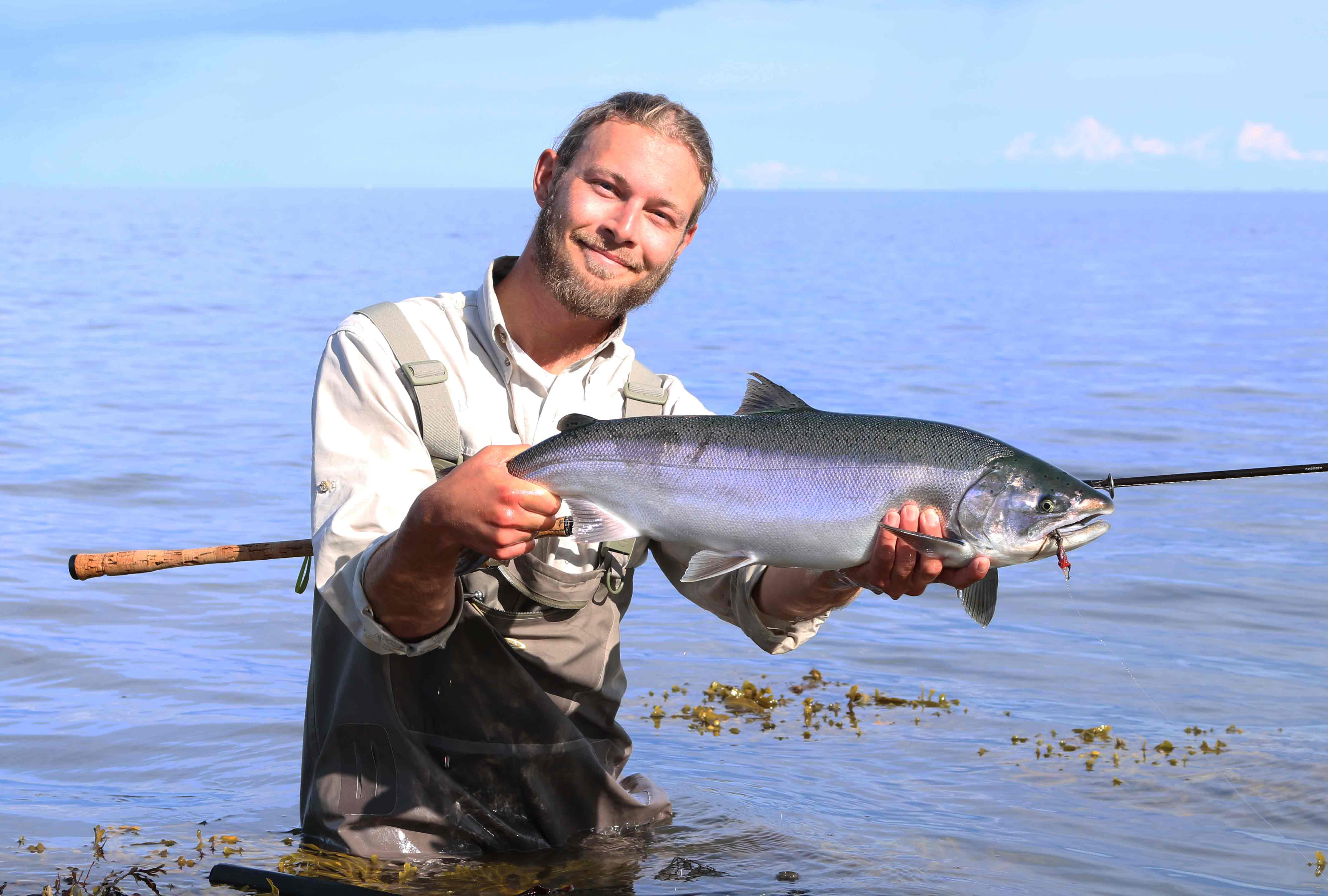 Ny fiskeart i Danmark: Hold øje med sjove ørreder med store skæl