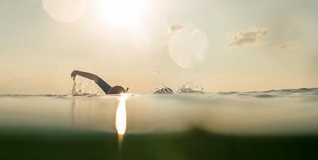 Havsvømning: Svømmetur uden bademester
