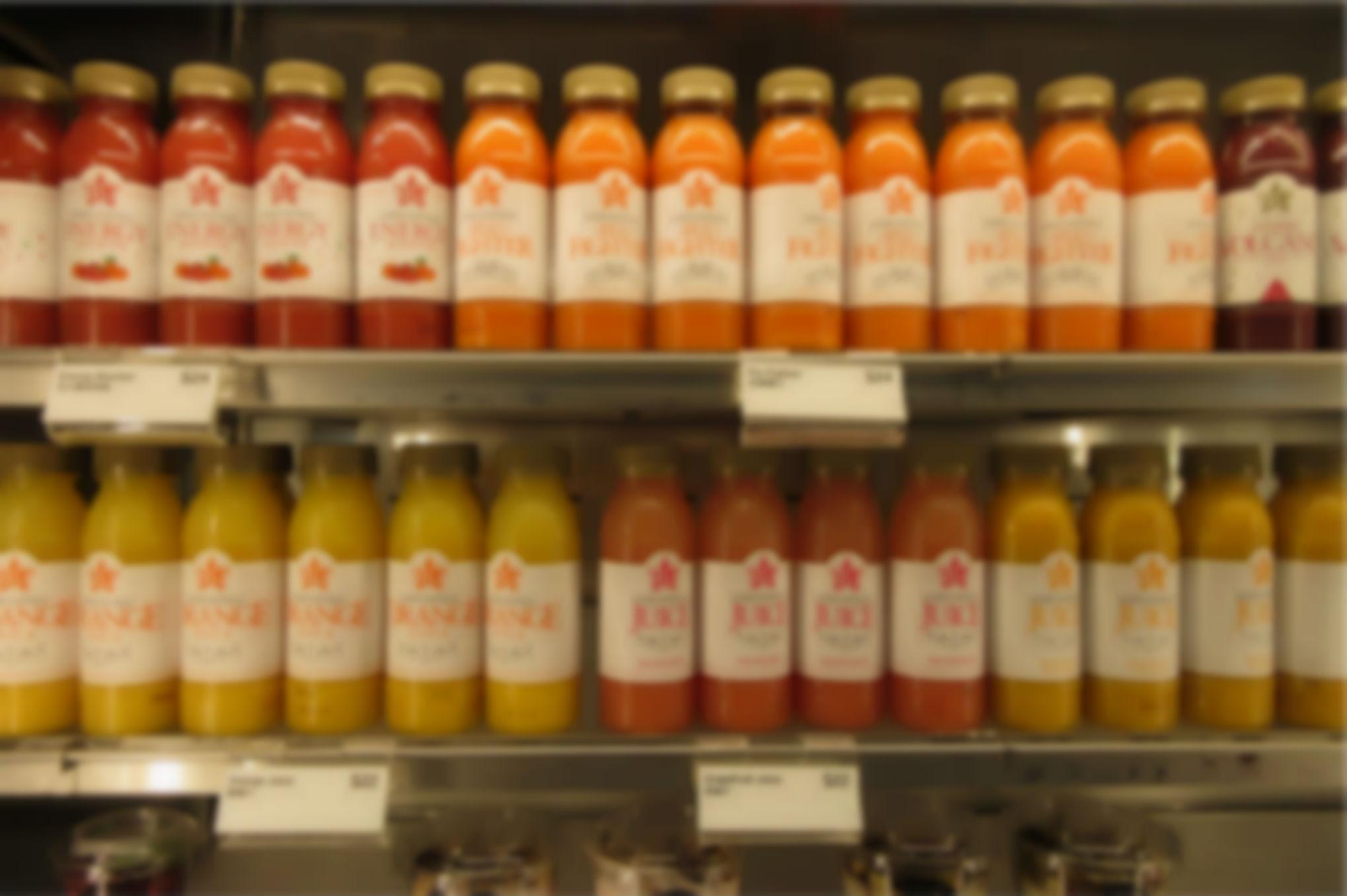 Nu kan du få pant for juice- og saftflasker