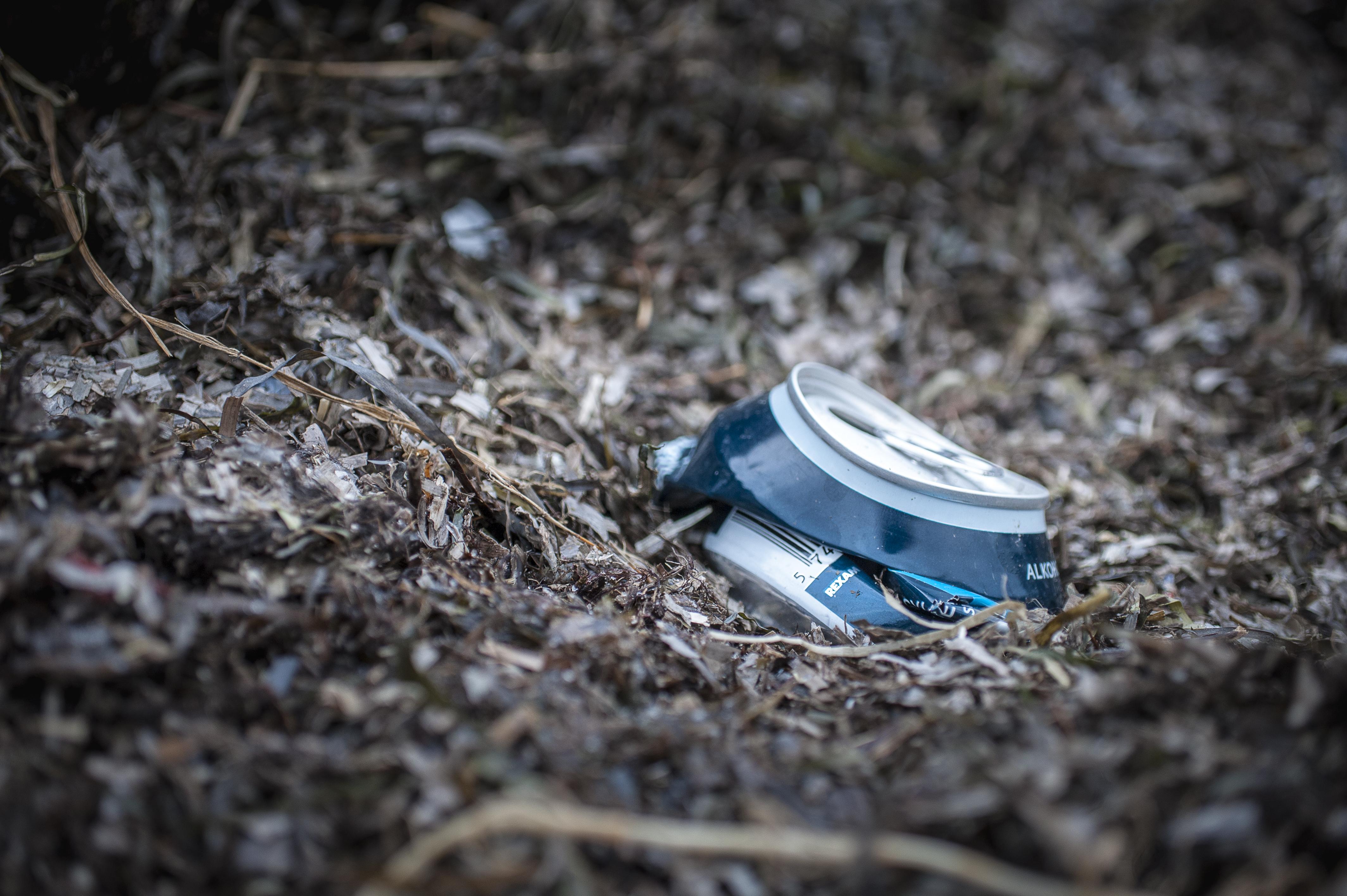 Den danske natur oversvømmes af dåser fra Tyskland