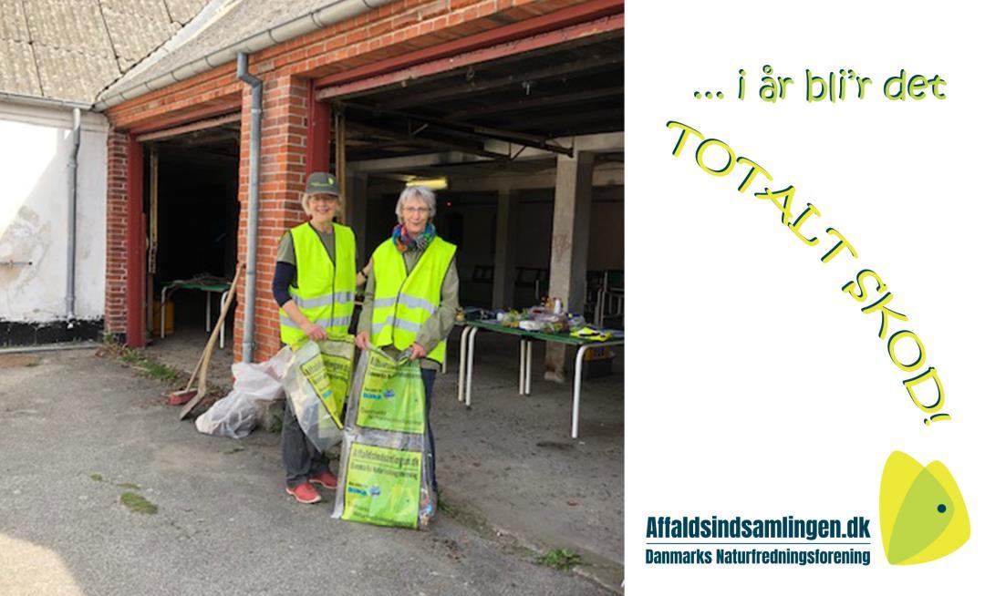 DN Affaldsindsamling i Lisbjerg - i år bliver det totalt skod!