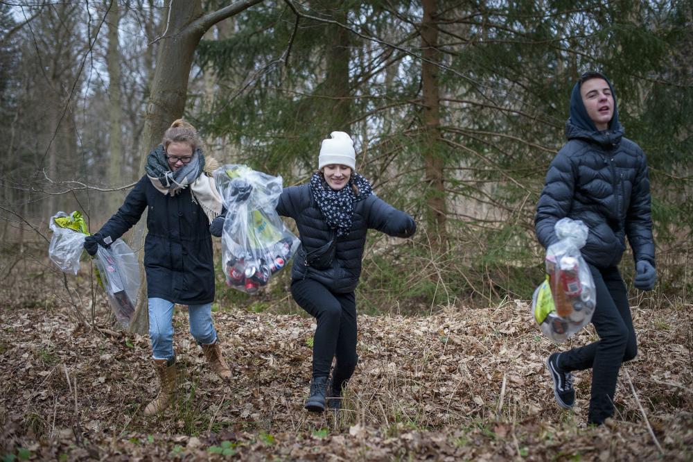 Affaldsindsamling: Opret en indsamling nær dig