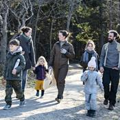 "Ny naturfamilie: ""I naturen glemmer vi alt andet"""