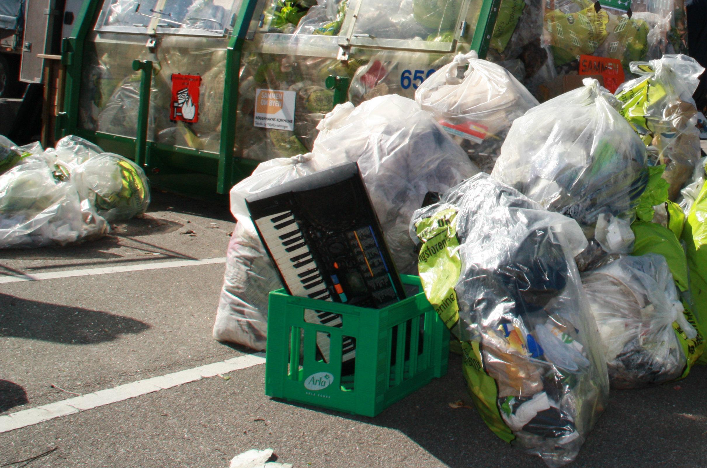 Danskere laver langt mere affald end andre europæere