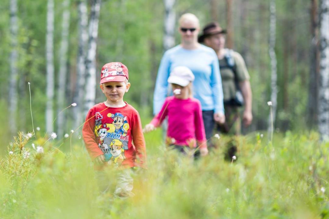 Familie-legedag i naturen