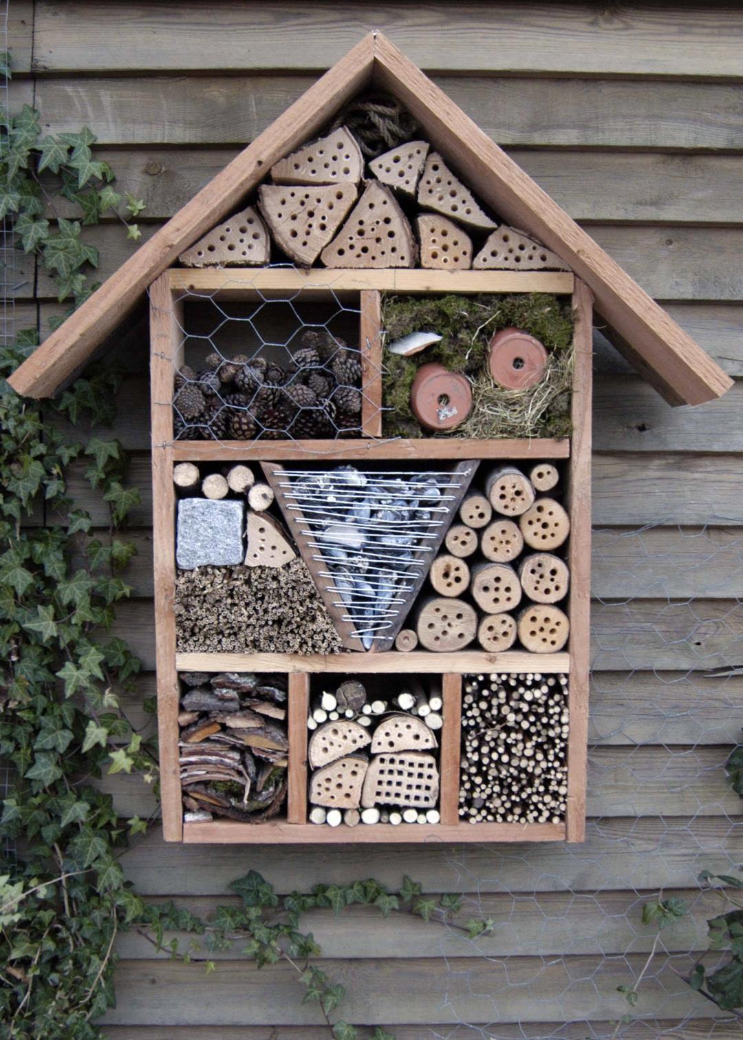 Krible krable og byg et hotel til bier eller insekter