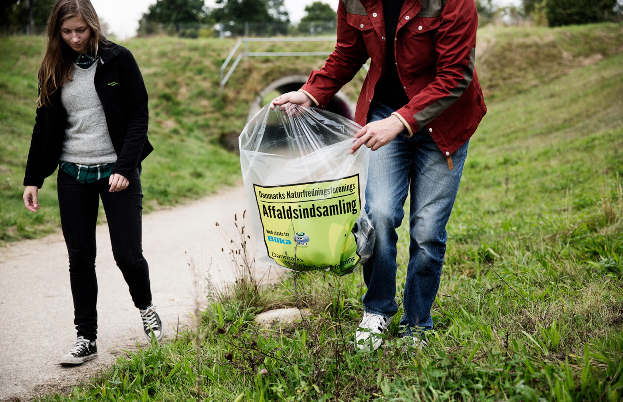 Derfor er det godt for dig at samle affald