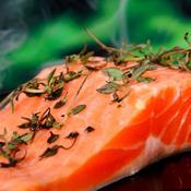 Undgå at spise opdrættet norsk laks
