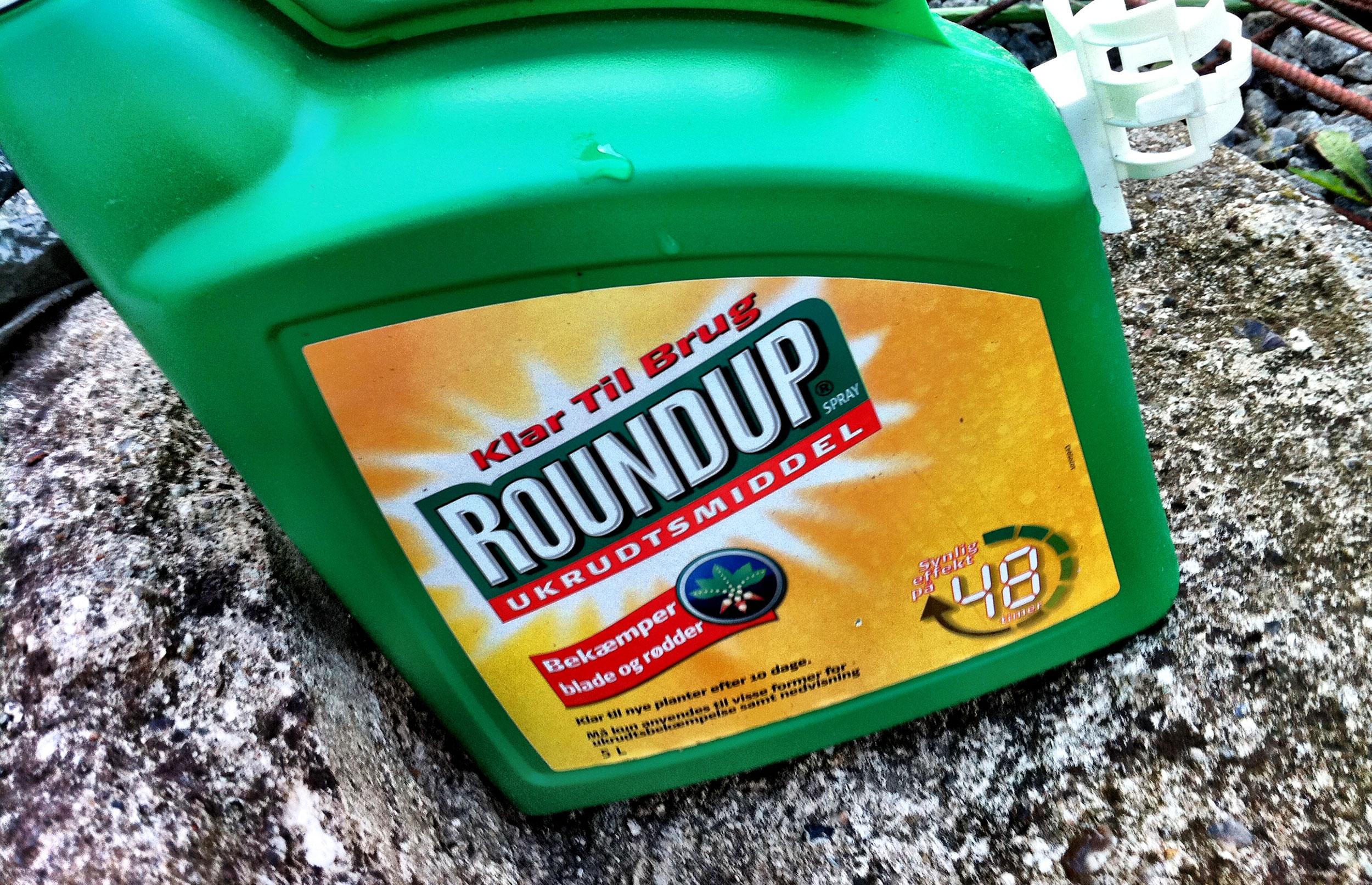 Overvågning af grundvandet: Glyphosat fundet i seks procent af boringerne