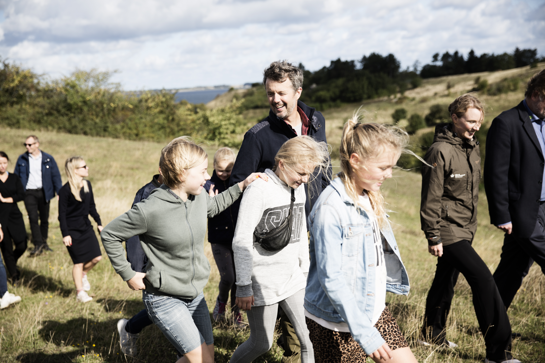 Kronprinsen kickstartede Naturens Dag 2019