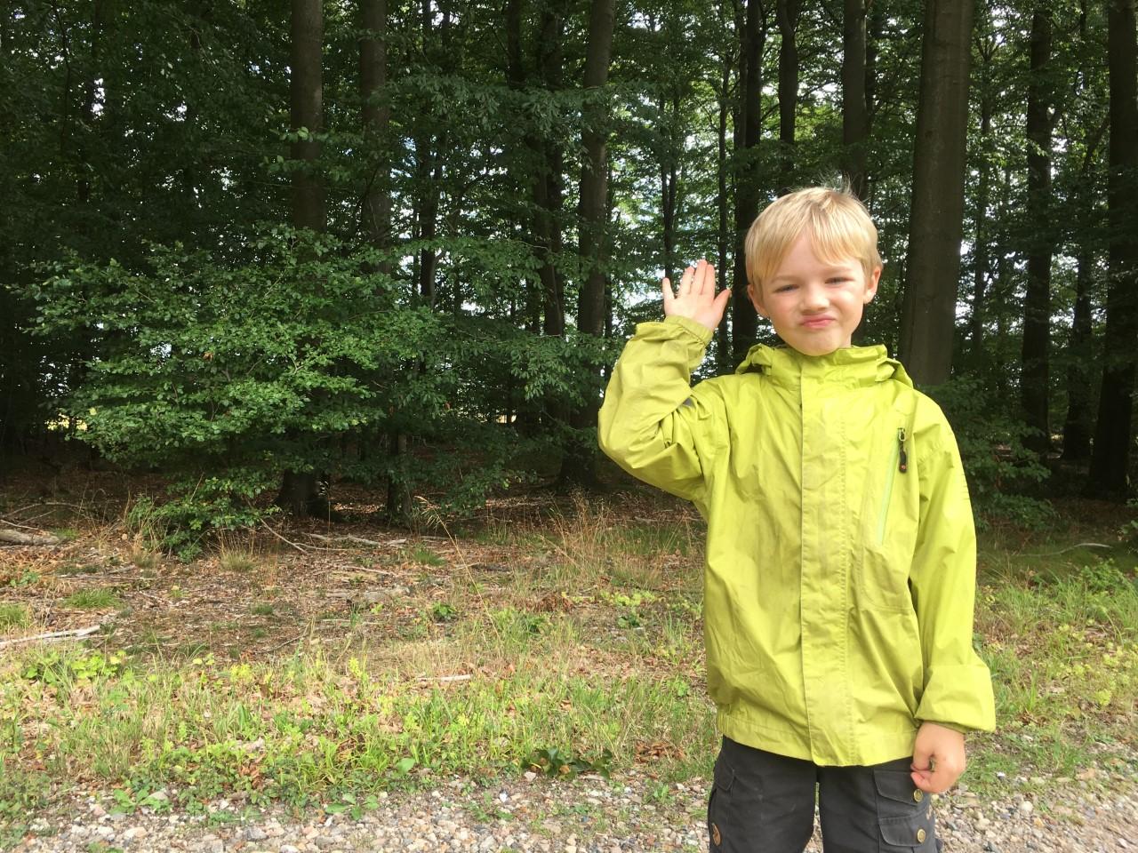 7-årige Frej indsamlede over 10.000 kroner til fordel for klimaet