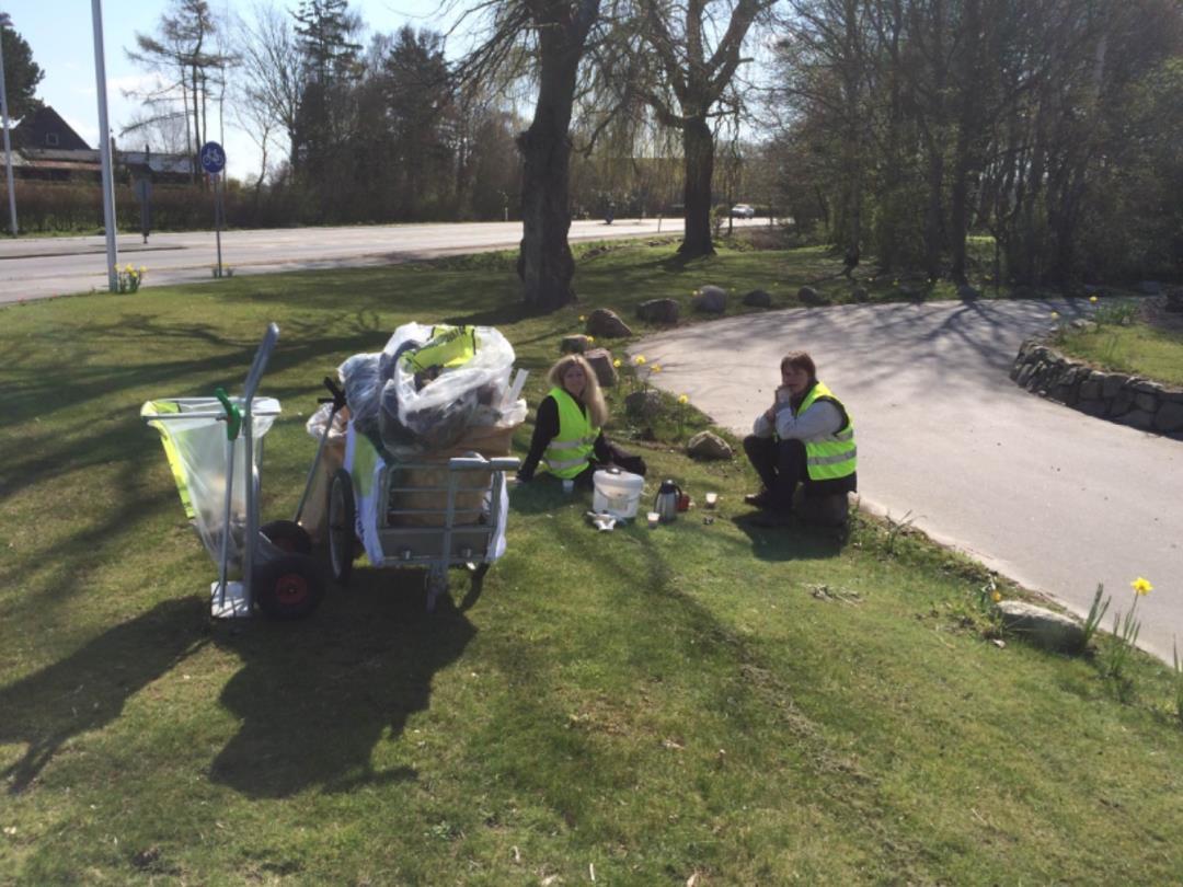 Affaldsindsamling Ubby-Jerslev