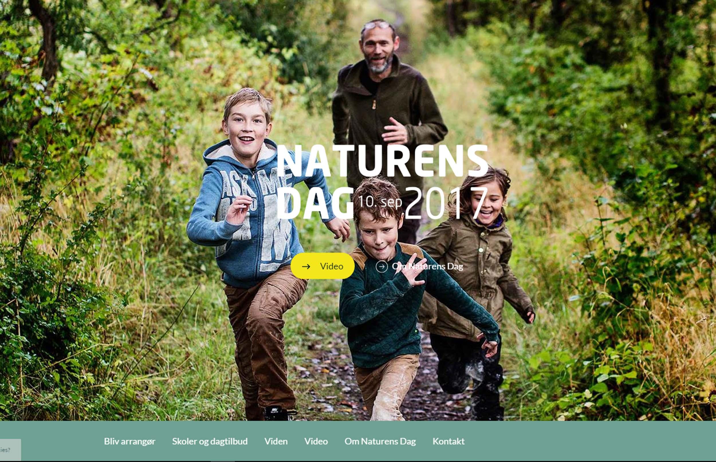 Naturens Dag får nyt website