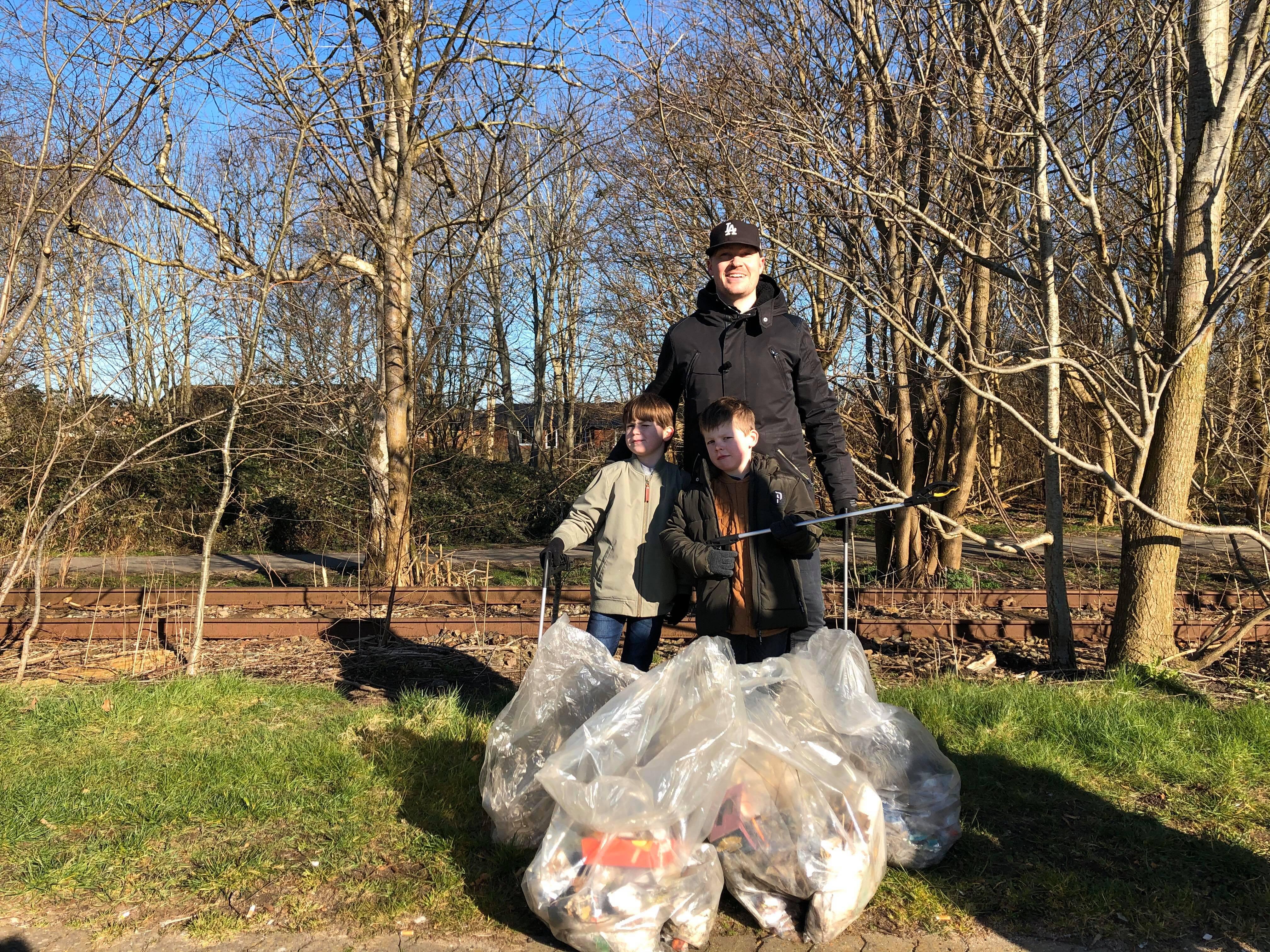 20.000 er med på Esbens affaldsinitiativ: Vi manglede et positivt fællesskab
