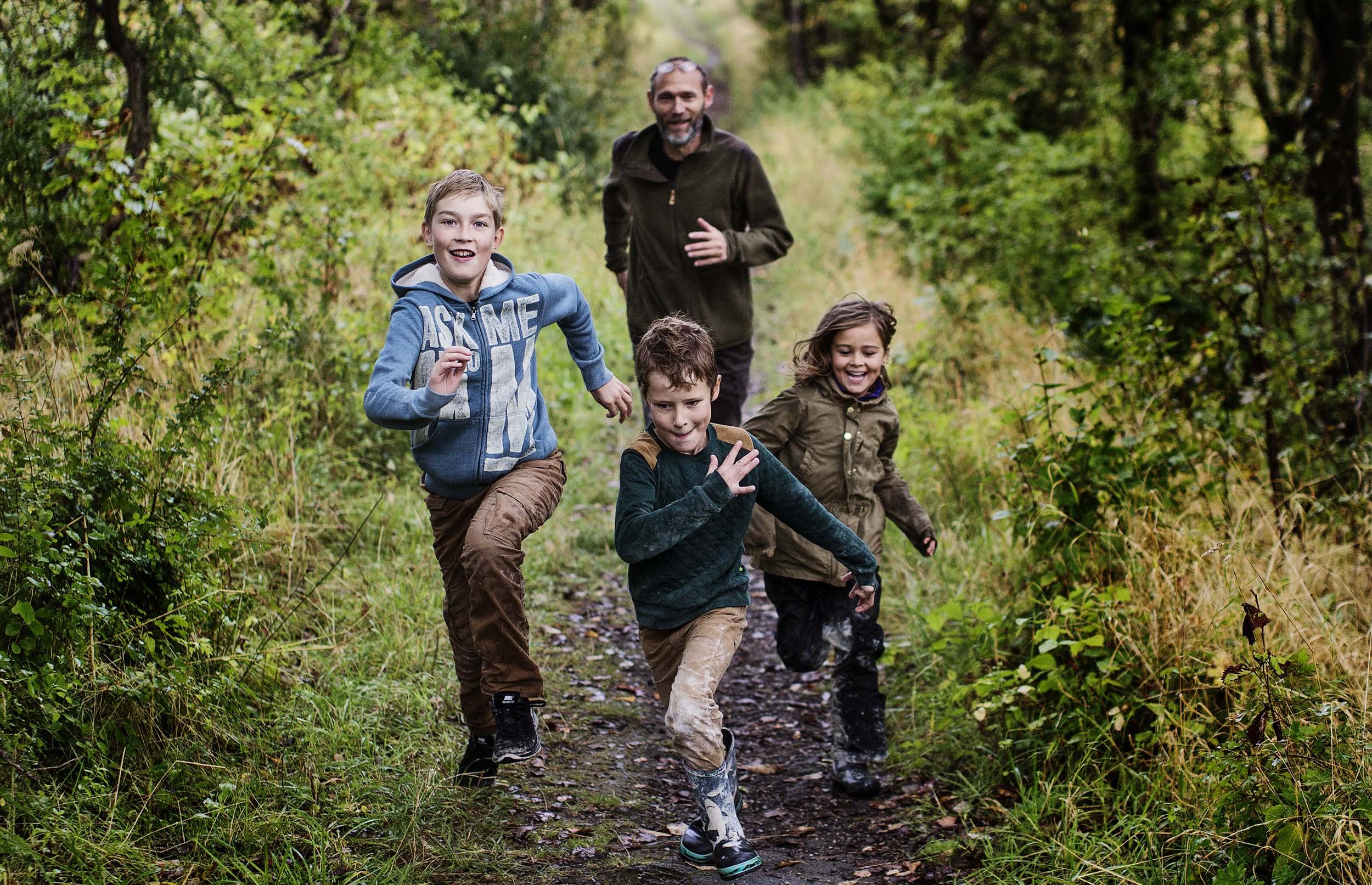 Naturfamilier søger testfamilier i 10 udvalgte kommuner