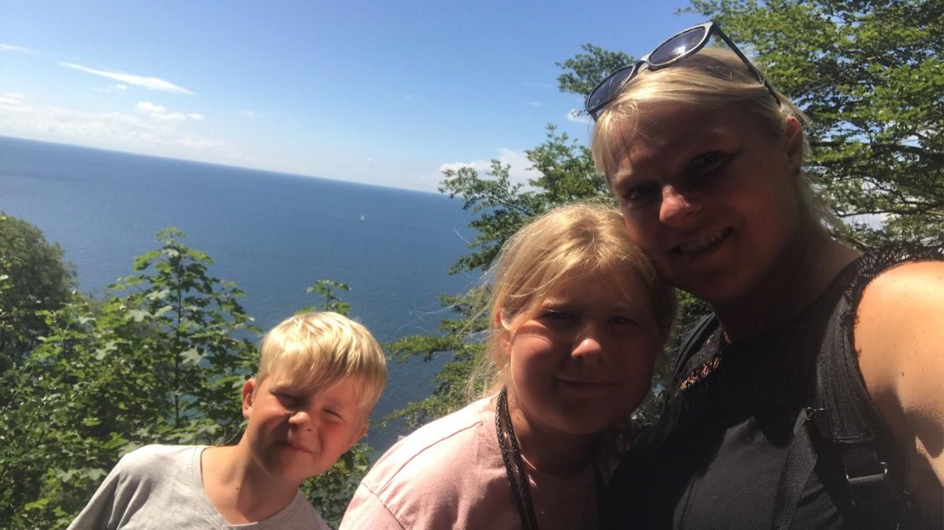 Familie bruger naturen mere efter corona-nedlukning
