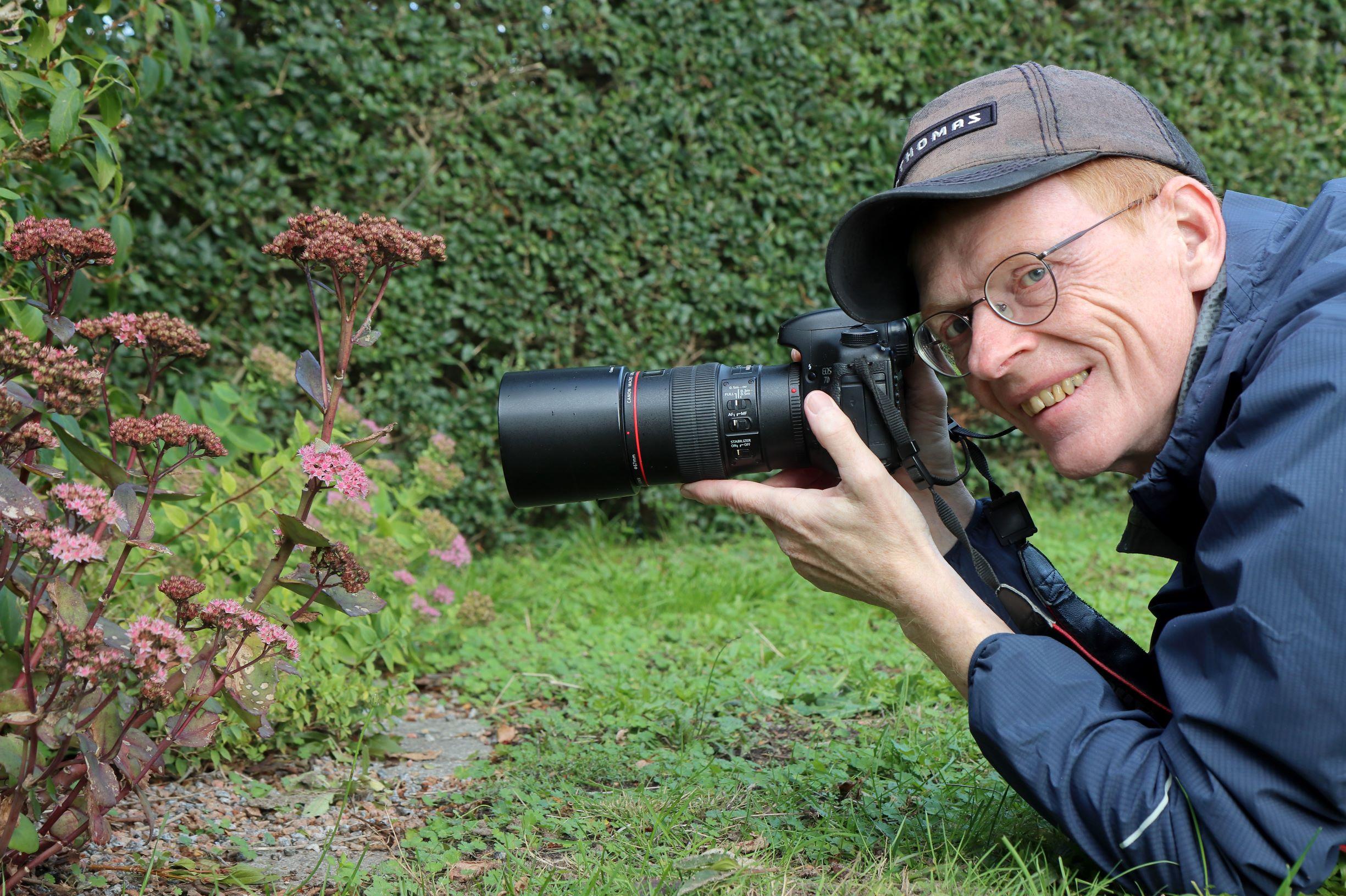 Bankrådgiver besat af dagsommerfugle: Har fotograferet alle danske arter