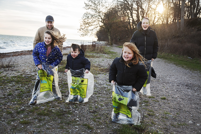 Affaldsuge kulminerer i weekenden med rekordmange indsamlinger