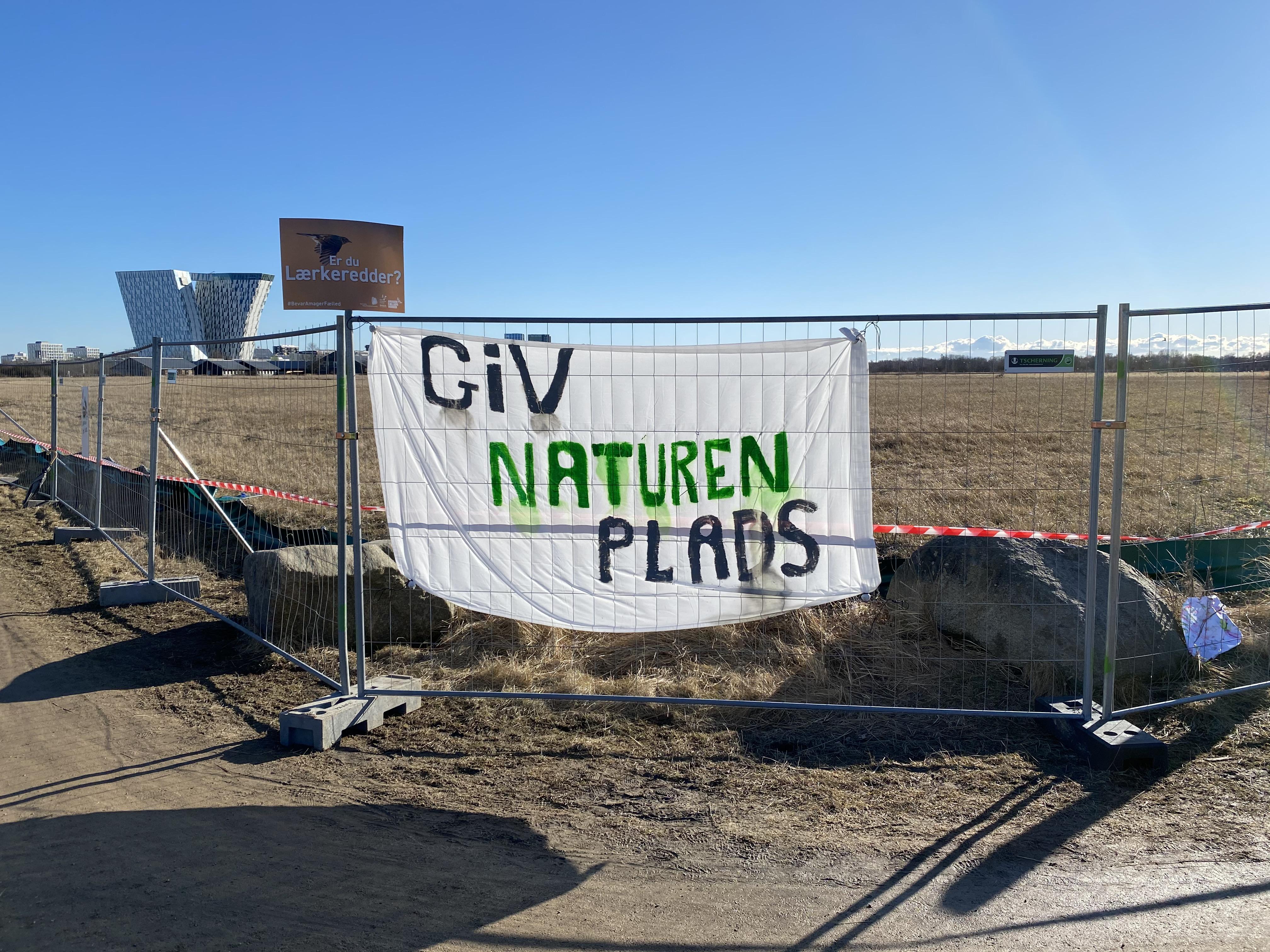 Danmarks Naturfredningsforening klager over Amager Fælled-byggeri