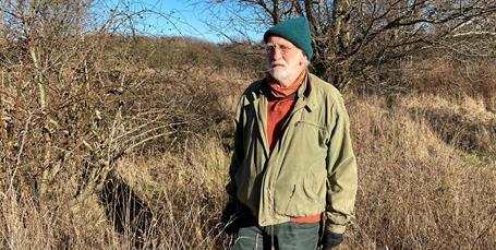 Knud Erik kæmper stadig for naturen på Amager Fælled