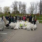 Ballerup affaldsindsamling fra Ballerup Rådhus