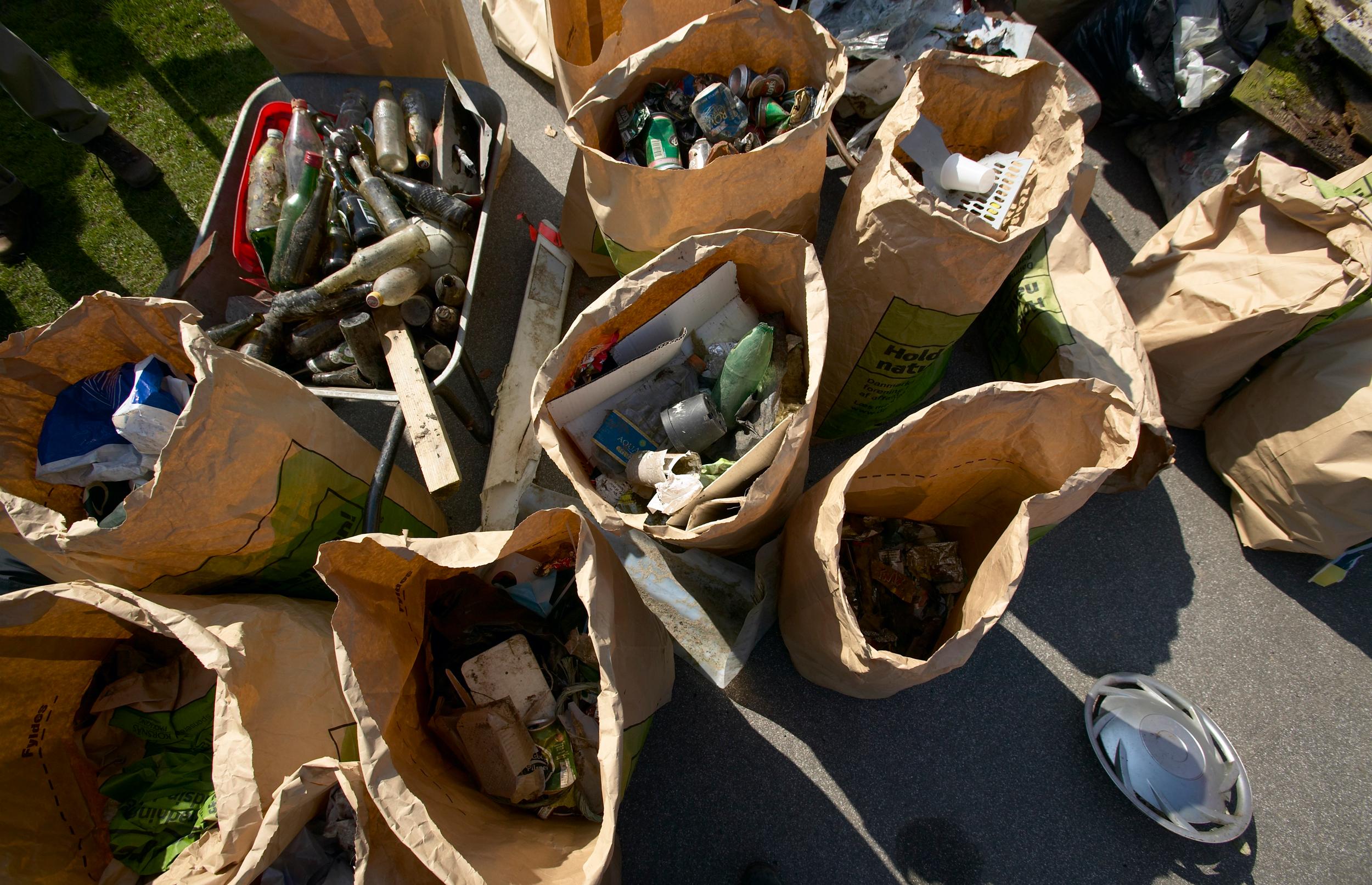Sådan skaber du mindre affald
